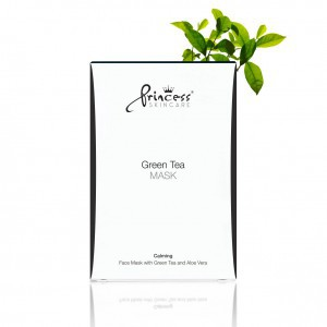 Princess Green Face Tea Mask (8 szt.)